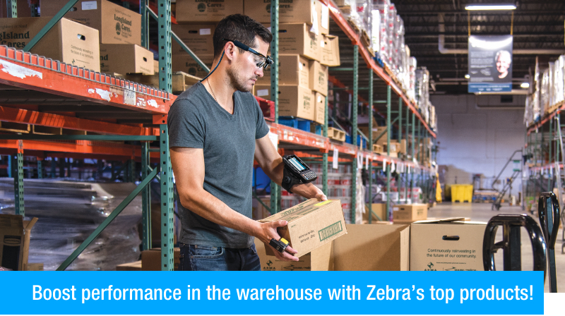 Boost performance in the warehouse with Zebra's top products