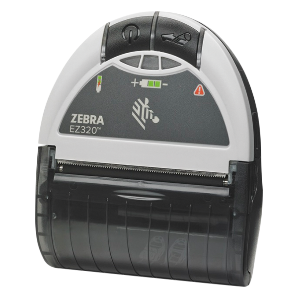 Zebra's handy mobile printer EZ320 for labels and receipts