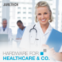 Discover our portfolio of special hardware for the healthcare sector!