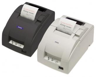 Epson TM-U220B, Ethernet, Cutter, weiß