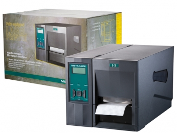 Metapace L-3, 8 Punkte/mm (203dpi), Cutter, EPL, ZPL, Multi-IF (Ethernet)