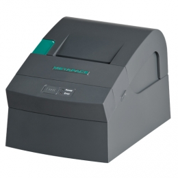 Metapace T-4, RS232, 8 Punkte/mm (203dpi), Cutter, schwarz