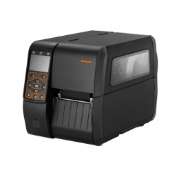 Bixolon XT5-43, 12 Punkte/mm (300dpi), RTC, Display, USB, USB-Host, RS232, LPT, Ethernet, schwarz