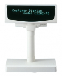Citizen C2202-PD: Luminous display for POS and shop