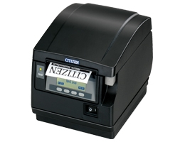 Citizen CT-S851, WLAN, 8 Punkte/mm (203dpi), Cutter, Display, weiß