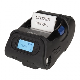 Citizen CMP-25L, USB, RS232, 8 Punkte/mm (203dpi), Display, ZPL, CPCL