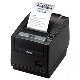 Citizen CT-S601II, BT, 8 Punkte/mm (203dpi), Cutter, schwarz
