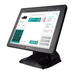 Colormetrics P3100, 43,2cm (17''), Projected Capacitive, SSD, schwarz, lüfterlos