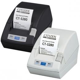Citizen CT-S281, USB, 8 Punkte/mm (203dpi), Cutter, weiß