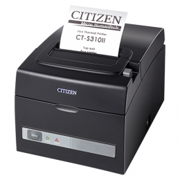 Citizen CT-S310II, Dual-IF, 8 Punkte/mm (203dpi), Cutter, weiß