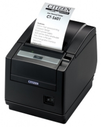 Citizen CT-S601, WLAN, 8 Punkte/mm (203dpi), Cutter, schwarz