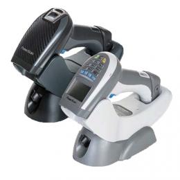 Datalogic PM9501-RT, 2D, SR, Disp., RB, schwarz, grau