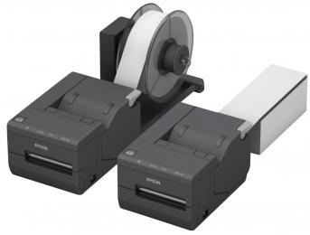Epson TM-L500A Ticket, 8 Punkte/mm (203dpi), Cutter, Dual-IF, dunkelgrau