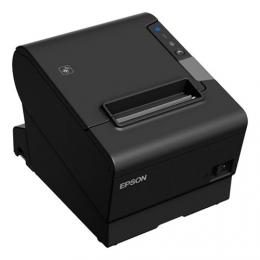 Epson TM-T88VI-iHub, steuerkonform Östereich, USB, RS232, Ethernet, ePOS, schwarz
