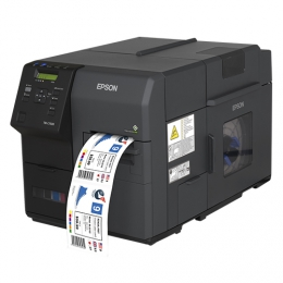 Epson ColorWorks C7500/C7500G: High-end colour label printer for on demand printing