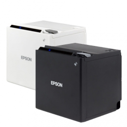Epson TM-m30c, USB, BT, Ethernet, 8 Punkte/mm (203dpi), ePOS, weiß