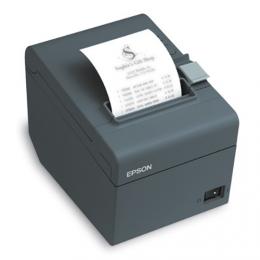 Epson TM-T20II, USB, Ethernet, 8 Punkte/mm (203dpi), Cutter, schwarz