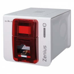 Evolis Zenius Classic Price Tag Solution, einseitig, 12 Punkte/mm (300dpi), USB, rot