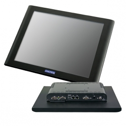 Glancetron 8806, 38,1cm (15''), schwarz, lüfterlos