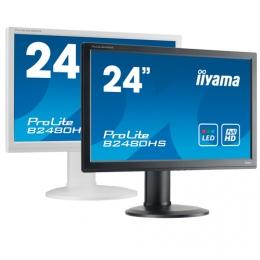 iiyama ProLite B2480HS, 60cm (23,6''), Full HD, weiß