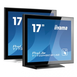 iiyama ProLite T1732MSC, 43,2cm (17''), Projected Capacitive, 10 TP, weiß