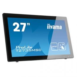 iiyama ProLite T2735MSC-B3, 68,6cm (27''), Projected Capacitive, 10 TP, Full HD, schwarz