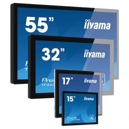 iiyama ProLite TF2415MC-B2, Projected Capacitive, 10 TP, Full HD, schwarz
