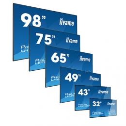 iiyama ProLite LH5565S, 24/7, 138,6cm (54,6''), Full HD, schwarz