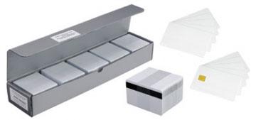 Plastikkarten, Wiederbeschreibbar, HICO, 100er-Pack