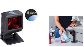 Honeywell QuantumT 3580, 1D, Kit (RS232), schwarz