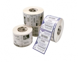 Etikettenrolle, Kunststoff, leicht ablösbar, 76x51mm