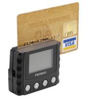PROMAG MSR-120, RS232, Disp., schwarz
