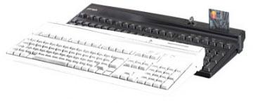 PrehKeyTec MCI 3100, QWERTZ, Alpha, MKL, USB, schwarz