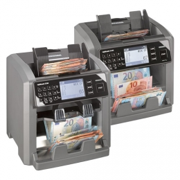 ratiotec rapidcount X-Series: Fast capture of banknotes with 100% counterfeit detection