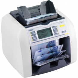 ratiotec T 200/T 250: Bank note counting machines for medium to large volumes