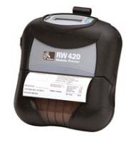 Zebra RW 420, 8 Punkte/mm (203dpi), linerless, Display, EPL, ZPL, CPCL, BT
