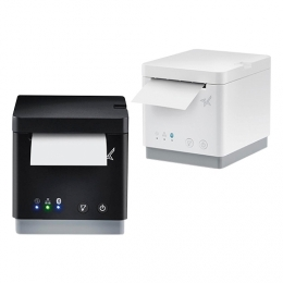 Star mC-Print2, USB, BT, Ethernet, 8 Punkte/mm (203dpi), Cutter, weiß