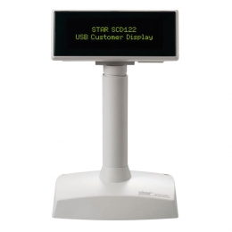 Star SCD122: Bright, modern 2 x 20 character customer display