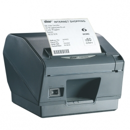 Star TSP847II, AirPrint, 8 Punkte/mm (203dpi), Cutter, dunkelgrau