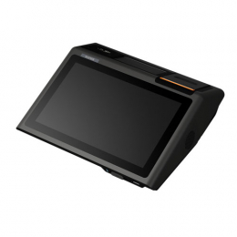 Sunmi D2 Mini, VFD, Android, schwarz, orange