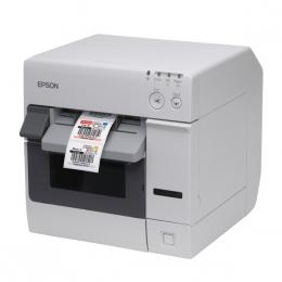 Epson ColorWorks C3400, Cutter, Ethernet, NiceLabel, weiß