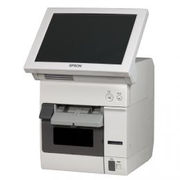 Epson TM-C3400-LT, Cutter, Disp., USB, Ethernet, weiß
