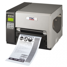 TSC TTP-384M, 12 Punkte/mm (300dpi), RTC, Display, TSPL-EZ, USB, RS232, LPT, Ethernet, PS/2