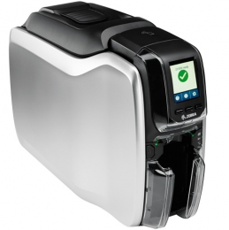 Zebra ZC300, einseitig, 12 Punkte/mm (300dpi), USB, Ethernet, MSR, Display, Contact, Contactless