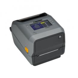 Zebra ZD621d, 12 Punkte/mm (300dpi), Disp., RTC, USB, USB-Host, RS232, BT, Ethernet, WLAN, grau